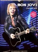Bon Jovi - 2008 Calendar with Stickers
